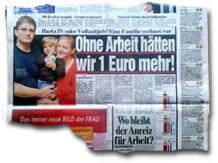 """""""Ohne Arbeit hätten wir 1 Euro mehr!"""""""