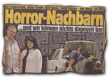 Horror-Nachbarn - ...und wir können nichts dagegen tun