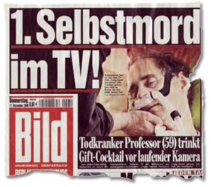 1. Selbstmord im TV!