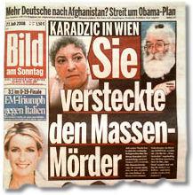 Karadzic in Wien / Sie versteckte den Massenmörder