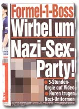 """Formel-1-Boss: Wirbel um Nazi-Sex-Party"""