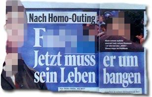 """""""Nach Homo-Outing: F. - Jetzt muss er um sein Leben bangen"""""""