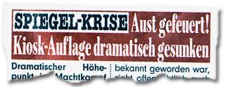 """""""SPIEGEL-KRISE: Stefan Aust gefeuert! Kiosk-Auflage dramatisch gesunken"""""""