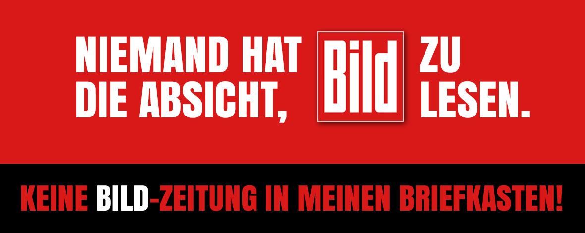Sticker Gegen Die Bild Zum Mauerfall 2 Bildblog