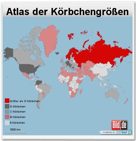 Atlas der Körbchengrößen