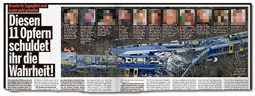 Diesen 11 Opfern schuldet ihr die Wahrheit! (dazu 11 Porträtfotos)