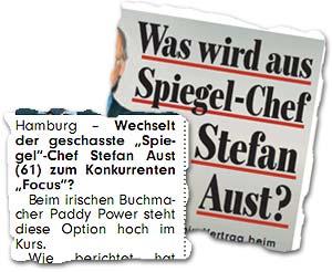 """""""Was wird aus Spiegel-Chef Stefan Aust?"""""""