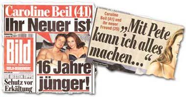 """""""Caroline Beil (41): Ihr Neuer ist 16 Jahre jünger"""", """"Mit Pete kann ich alles machen..."""""""