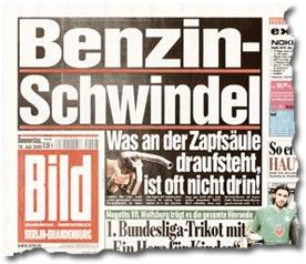 """""""Benzin-Schwindel: Was an der Zapfsäule draufsteht ist oft nicht drin!"""""""