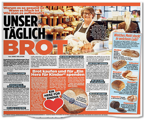 Unser täglich Brot - Warum es so gesund ist, wann es frisch ist, wie man es aufbewahrt
