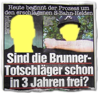 Sind die Brunner-Totschläger schon in drei Jahren frei?