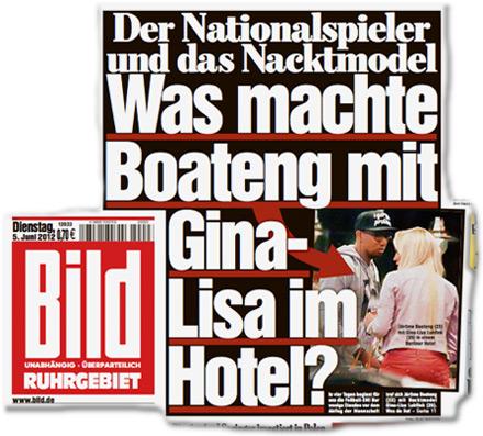 Was macht Boateng mit Gina-Lisa im Hotel?