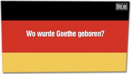 Wo wurde Goethe geboren?