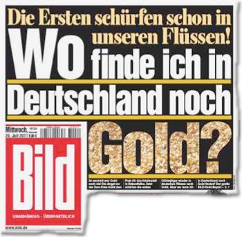 Die Ersten schürfen schon in unseren Flüssen! Wo finde ich in Deutschland noch Gold?