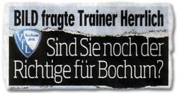 BILD fragt Trainer Herrlich: Sind Sie noch der Richtige für Bochum?
