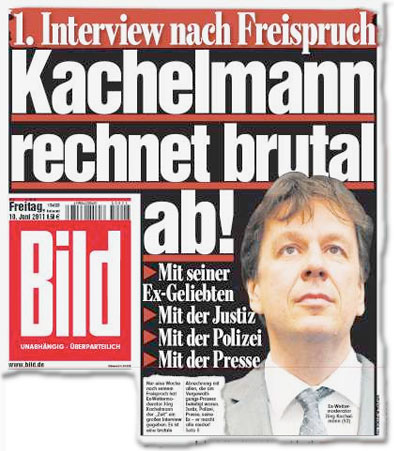 1. Interview nach Freispruch: Kachelmann rechnet brutal ab! Mit seiner Ex-Geliebten - Mit der Justiz - Mit der Polizei - Mit der Presse