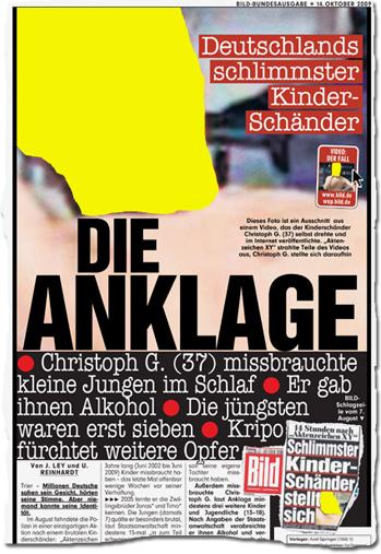 Deutschlands schlimmster Kinderschänder: Die Anklage