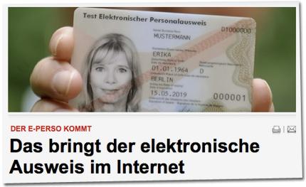 Der E-Perso kommt: Das bringt der elektronische Ausweis im Internet
