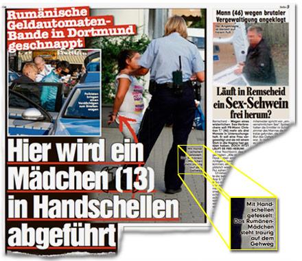 Rumänische Geldautomaten-Bande in Dortmund geschnappt - Läuft in Remscheid ein Sex-Schwein frei herum?