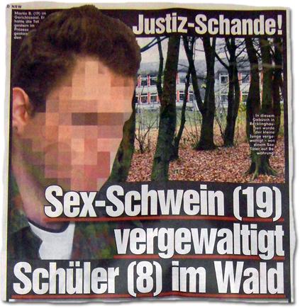 Justiz-Schande! Sex-Schwein (19) vergewaltigt Schüler (8) im Wald