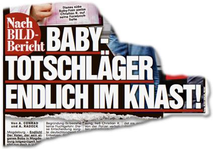 Nach BILD-Bericht: Baby-Totschläger endlich im Knast!