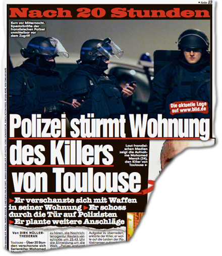 Nach 20 Stunden: Polizei stürmt Wohnung des Killers von Toulouse