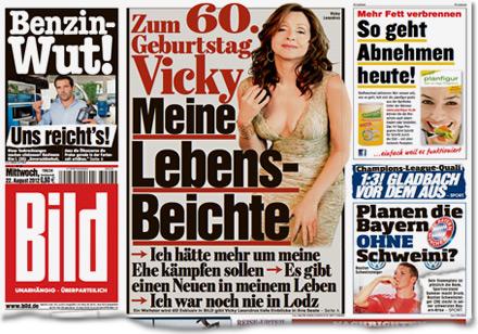 Zum 60. Geburtstag: Vicky — Meine Lebensbeichte