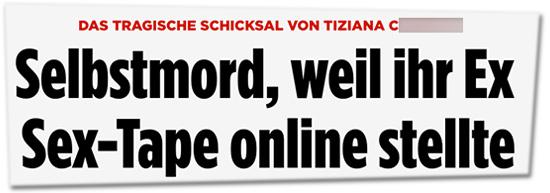 Das tragische Schicksal von Tiziana: Selbstmord, weil ihr Ex Sex-Tape online stellte