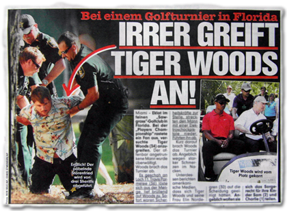 Irrer greift Tiger Woods an!