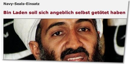 Navy-Seals-Einsatz: Bin Laden soll sich angeblich selbst getötet haben