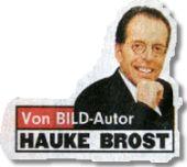 BILD-Autor Hauke Brost