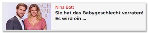 Nina Bott - Sie hat das Babygeschlecht verraten! Es wird ein ...