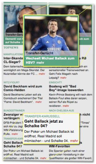 Wechselt Michael Ballack zum HSV? [...] Geht Ballack jetzt zu Schalke 04?