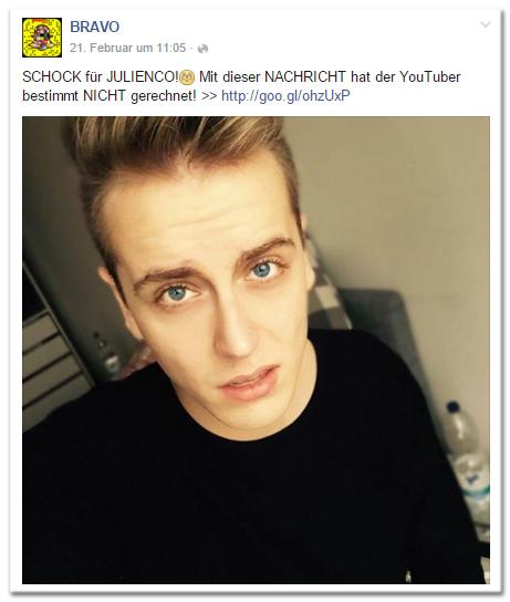SCHOCK für JULIENCO! [überraschter Smiley mit roten Wangen] Mit dieser NACHRICHT hat der YouTuber bestimmt NICHT gerechnet!