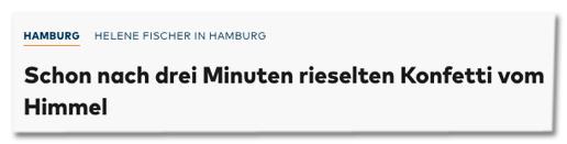 Screenshot Welt.de - Schon nach drei Minuten rieselten Konfetti vom Himmel