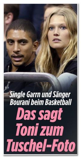 Single Garrn und Sänger Bourani beim Basketball - Das sagt Toni zum Tuschel-Foto