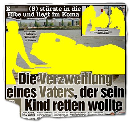 [E.] (5) stürzte in die Elbe und liegt im Koma - Die Verzweiflung eines Vaters, der sein Kind retten wollte
