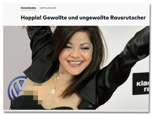 Screenshot Welt.de - Gewollte und ungewollte Rausrutscher
