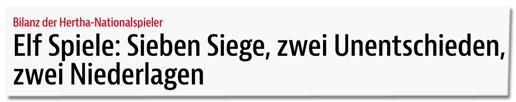 Screenshot bz-berlin.de - Bilanz der Hertha-Nationalspieler - Elf Spiele: Sieben Siege, zwei Unentschieden, zwei Niederlagen
