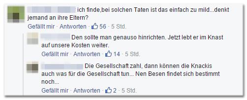 Dieses dumme Schwein lebt auf Kosten deutschen Bürger weiter....ich könnt kotzen
