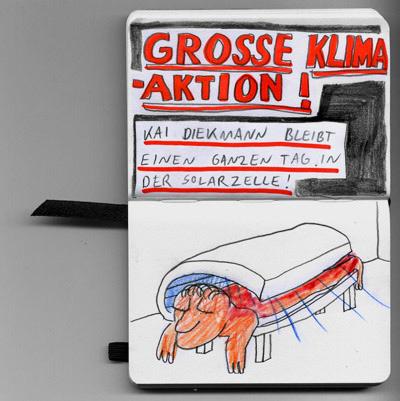 """""""Große Klima-Aktion! Kai Diekmann bleibt einen ganzen Tag in der Solarzelle!"""""""