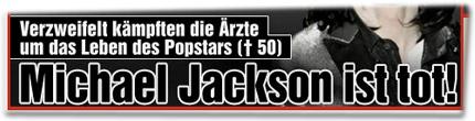 Verzweifelt kämpften die Ärzte um das Leben des Popstars (✝50): Michael Jackson ist tot!