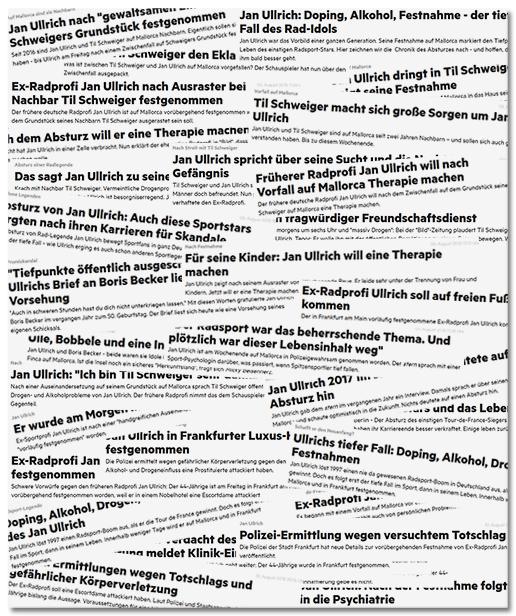 [Collage mit etwa zwei Dutzend Überschriften von Stern.de]