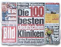 """""""Größte Patienten-Studie: Die 100 besten deutschen Kliniken -- Ist das Krankenhaus in Ihrer Stadt auch dabei?"""""""