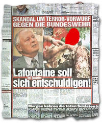 """""""Lafontaine soll sich bei Soldaten entschuldigen"""""""