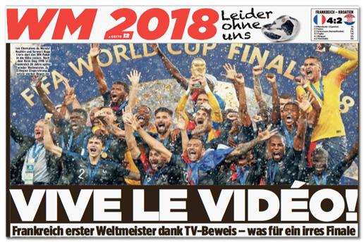 Ausriss Bild-Zeitung - Vive le vidéo