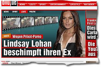 """""""Video: Wegen Privat-Porno -- Lindsay Logan beschimpft ihren Ex"""""""