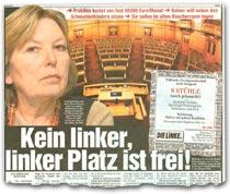 """""""Kein linker, linker Platz ist frei!"""""""
