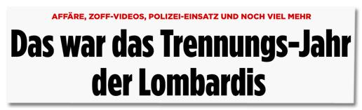 Affäre, Zoff-Videos, Polizei-Einsatz und noch viel mehr - Das war das Trennngs-Jahr der Lombardis