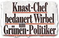 """Knast-Chef bedauert Wirbel um Grünen-Politiker"""